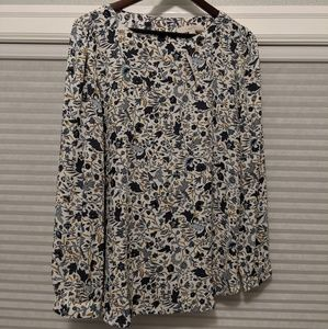 NWT LOFT Long sleeved blouse